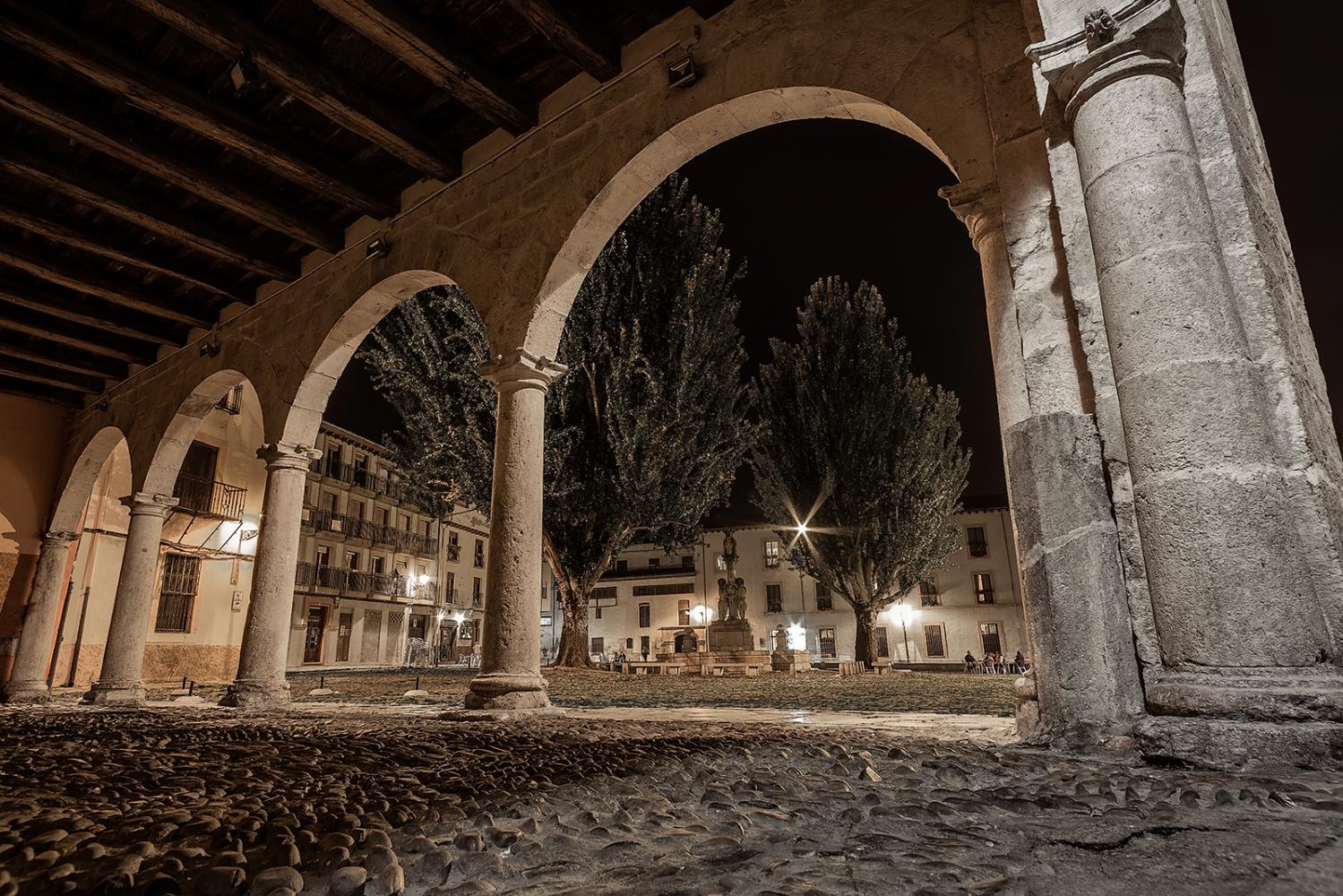 Plaza del Grano. León. Spain.