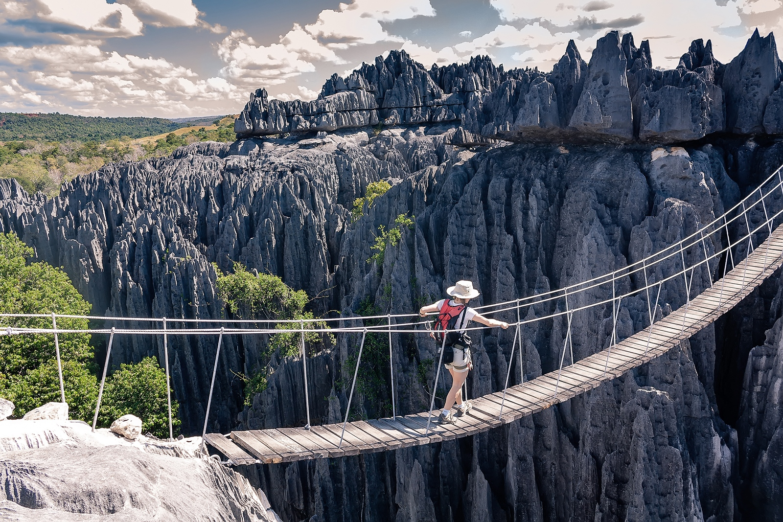 Tsingy de Bemaraha. Madagascar.