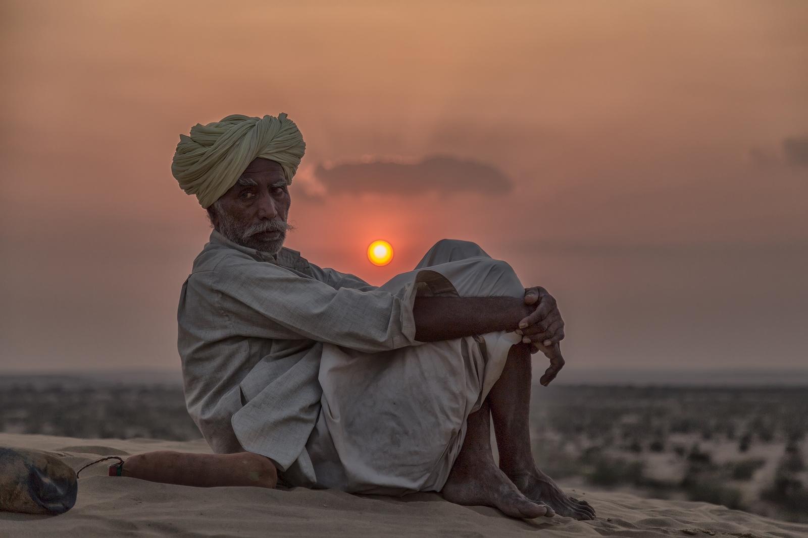 Desierto del Thar. Frontera India-Pakistan