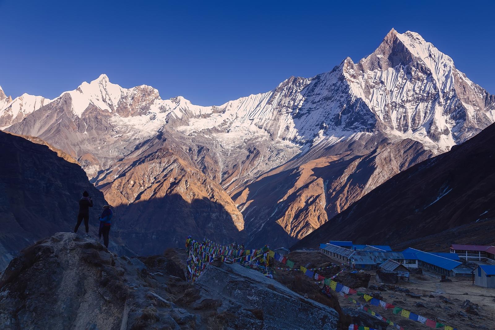 Campo Base Annapurna. Himalayas. Nepal