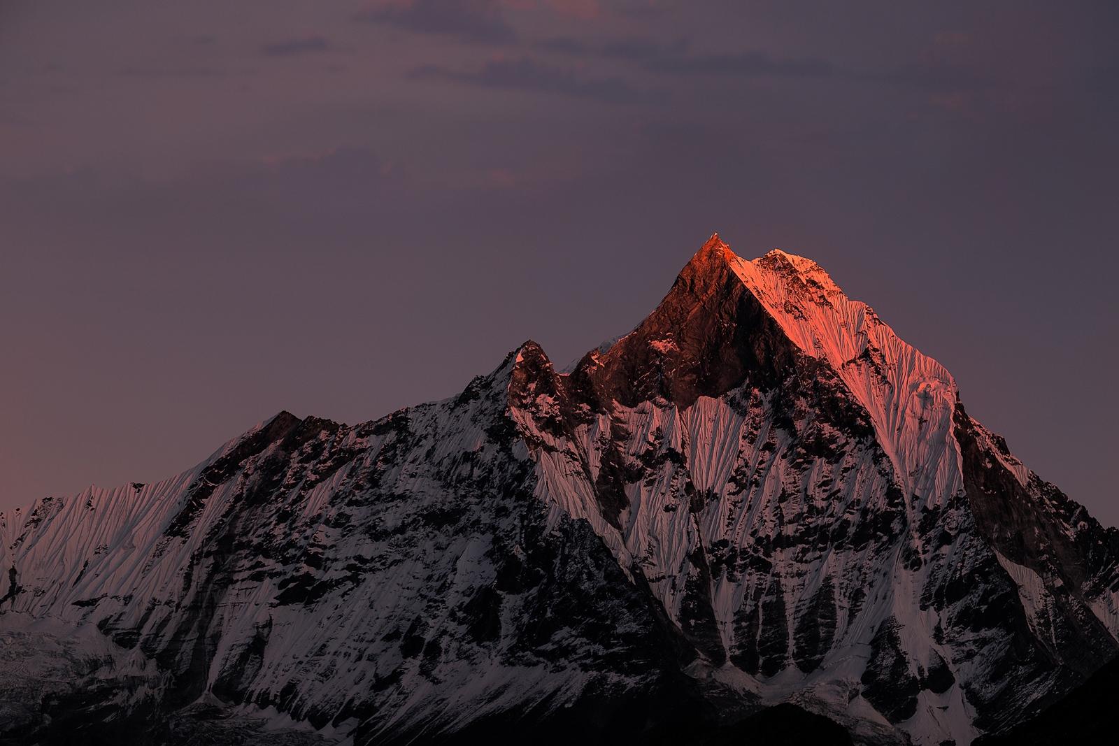 Machapuchare. Nepal