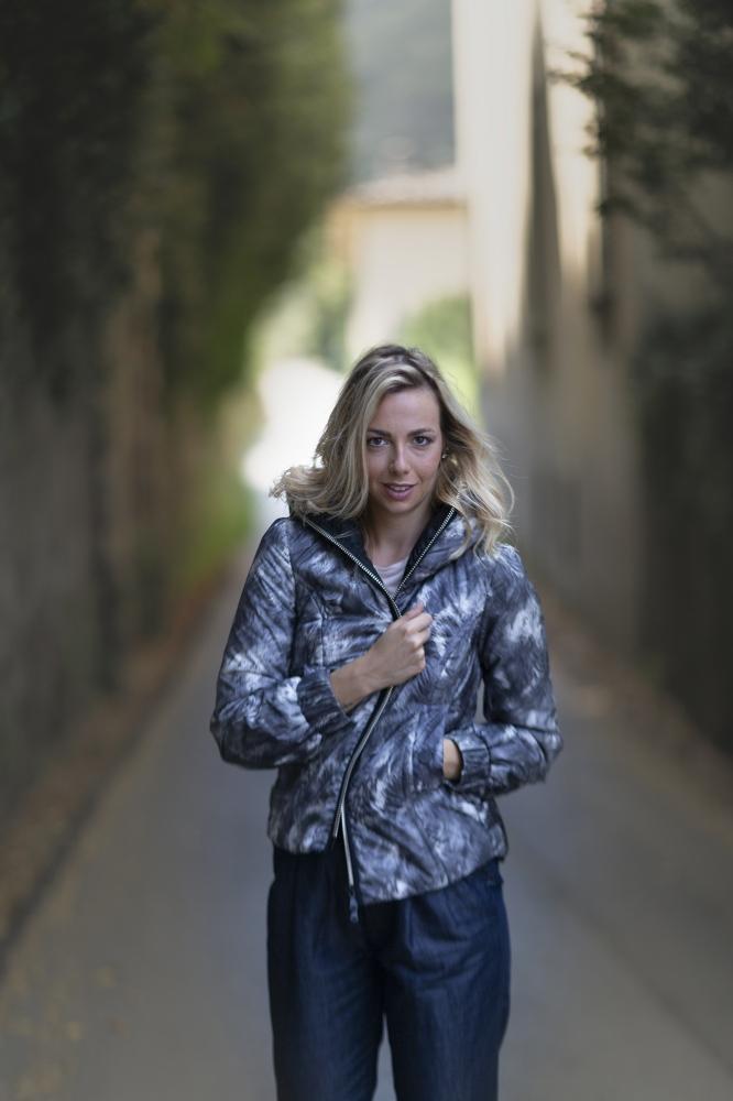 L'artista Ginevra Taccola, fotografata per GEOSPIRIT