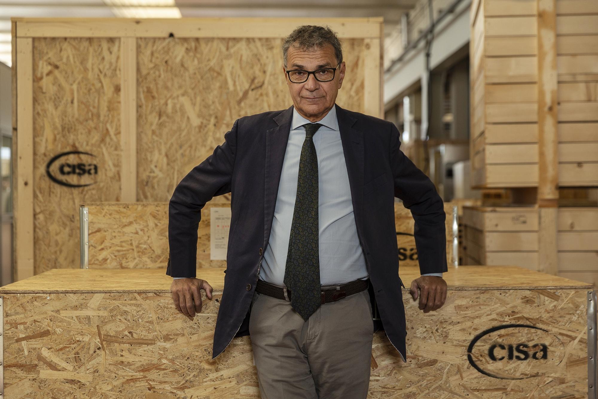 L'amministratore delegato di CISA - Antonio Veronesi