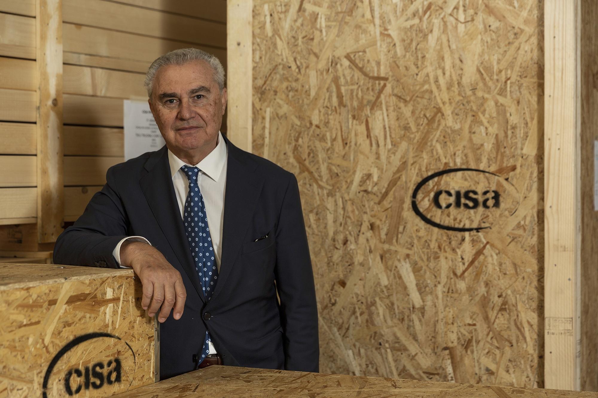 Il presidente di CISA - Enrico Dell'Artino