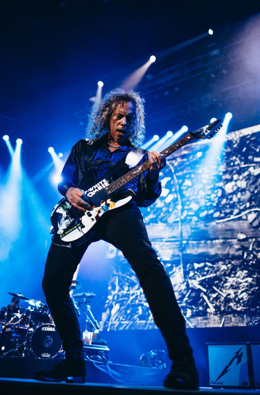 Metallica, Kirk Hammett, Coliseo de Puerto Rico 2016