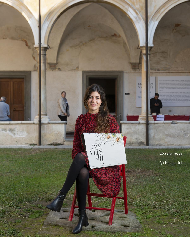 """Carlotta Correra, for """"The Bestiario"""", in Libropolis Festival Pietrasanta 2018"""