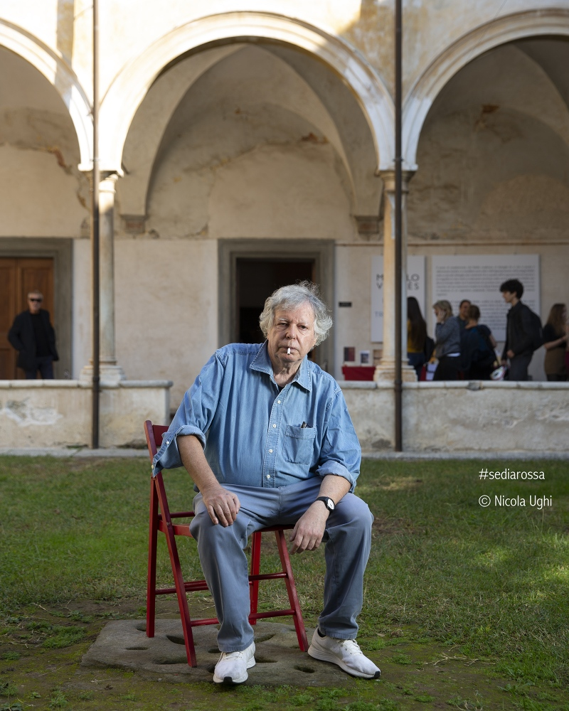 The Journalist and writer Massimo Fini, in Libropolis Festival Pietrasanta 2018