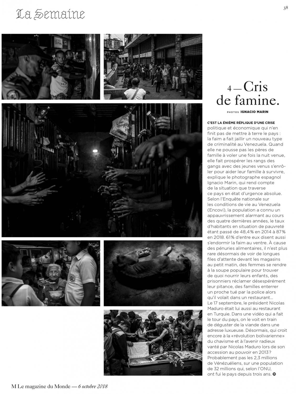 Art and Documentary Photography - Loading M_Le_Monde_-_Venezuela.jpg