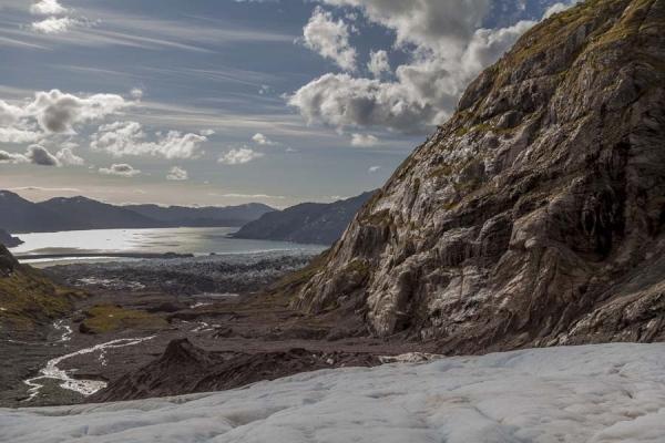 Behind Amalia glacier, Patagonia. Chile 2015