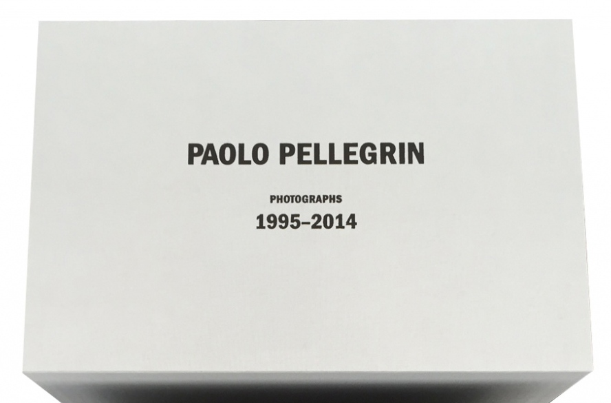 Text Stamp for Limited Edition Paolo Pellegrin Box, 2015