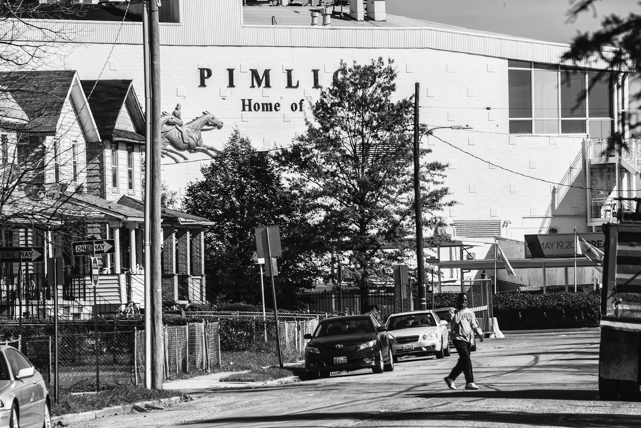 Since 1870, Pimlico Race Course has loomed over Baltimore's Park Heights neighborhood.