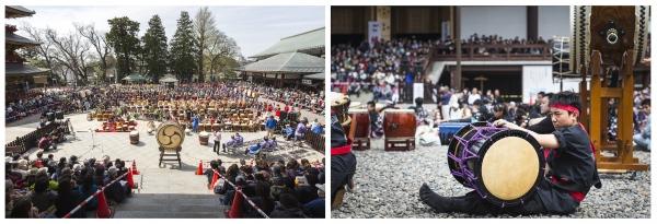 Narita Drum Festival (成田太鼓祭) .