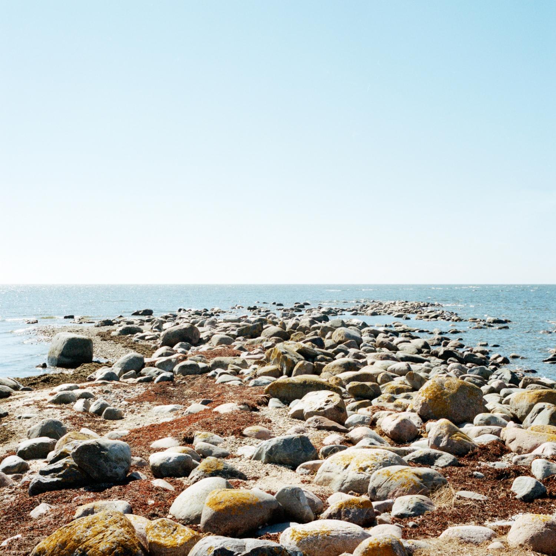 A pebble beach. May 2013.
