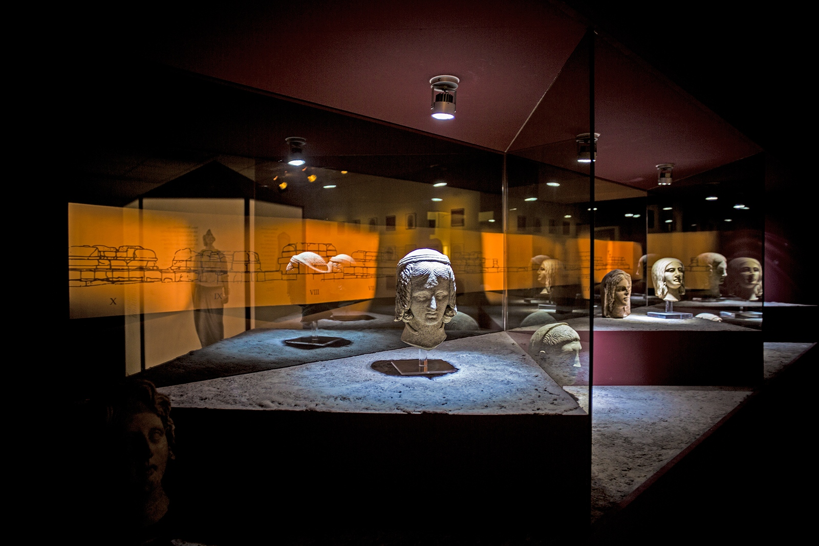 """The Lavinium Archaeological Museum hosts the remains of a necropolis that includes relics of houses, walls, thermal baths and a sanctuary, named """"Sanctuary of the Thirteen Altars""""."""