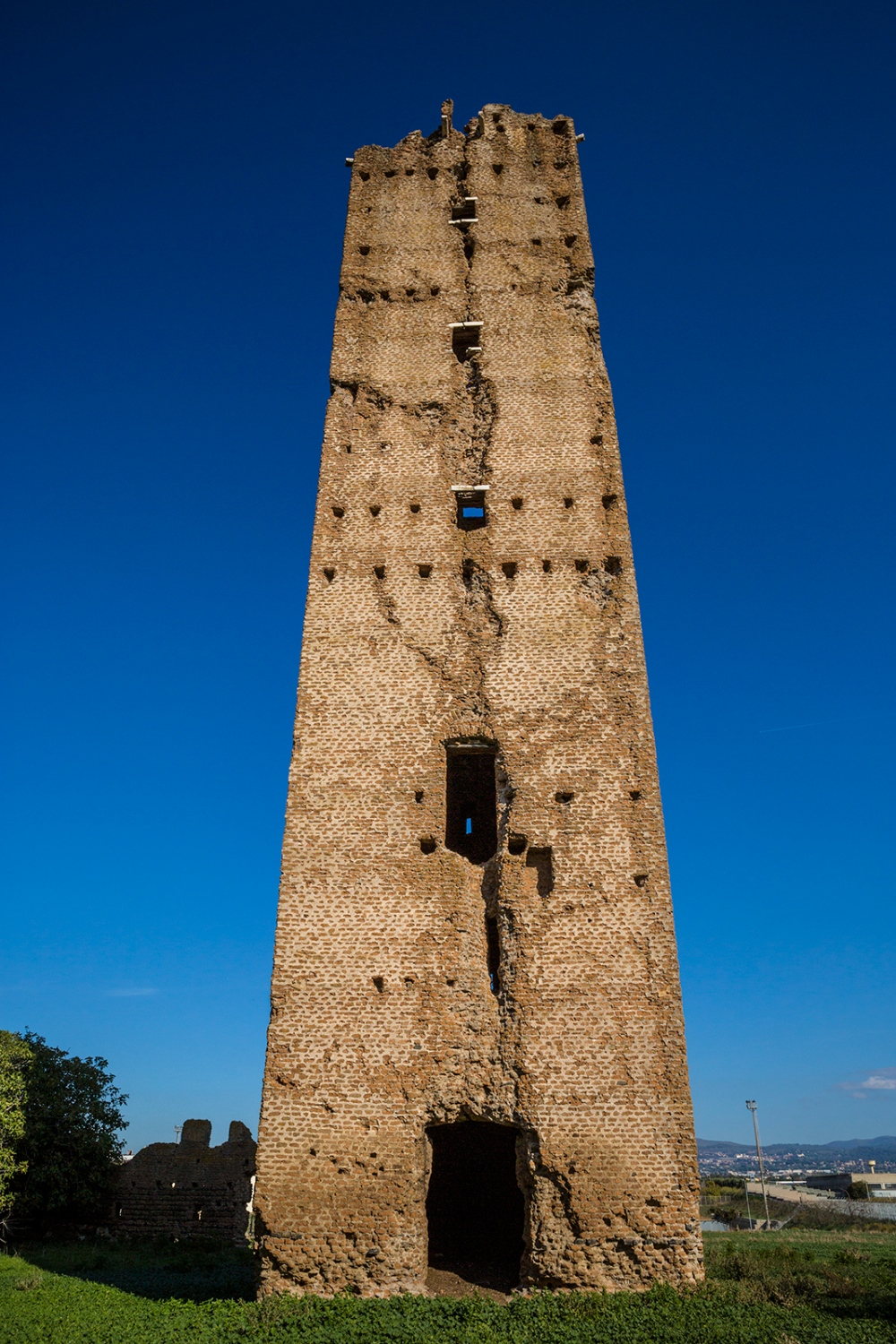 One of the several medieval towers scattered around the city