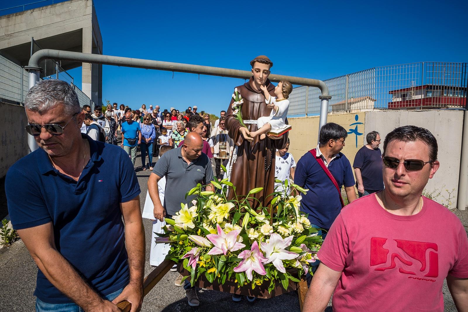Celebration of the annual patron saint day