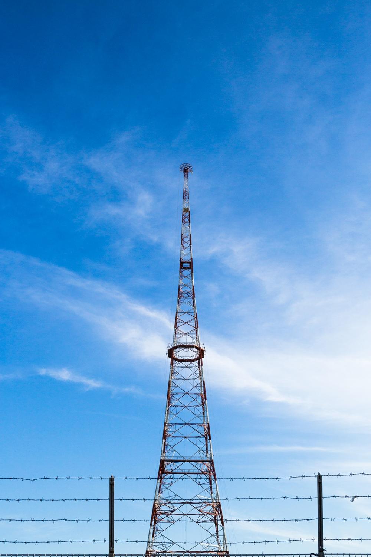 The national radio antenna tower