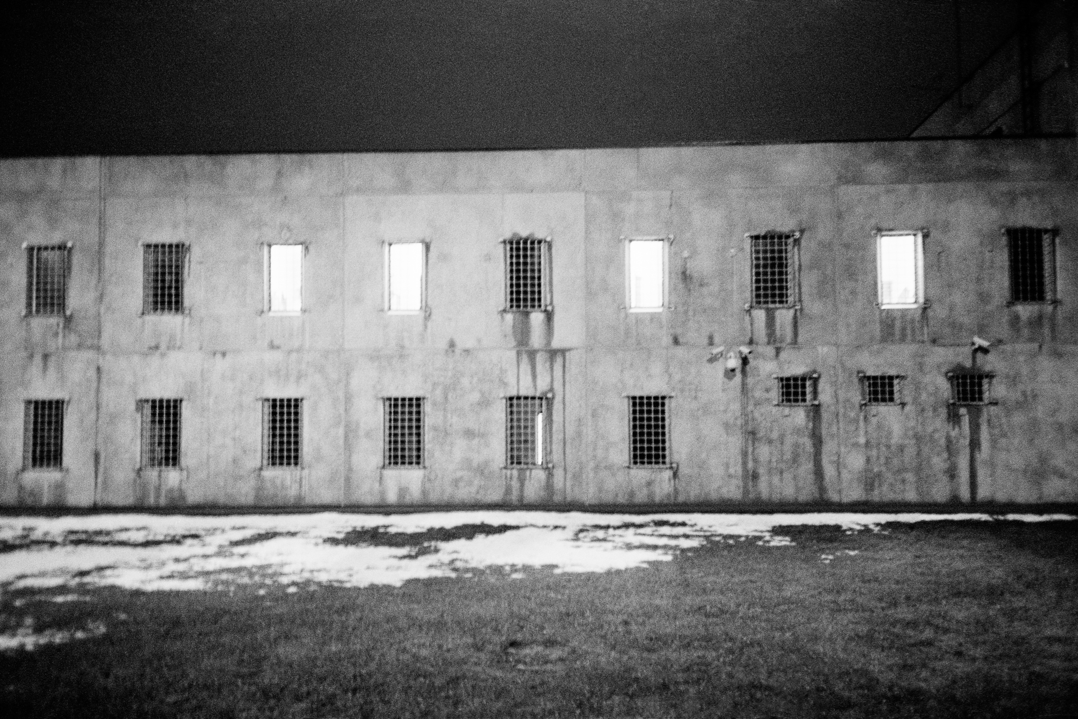 Only two buildings are occupied by the young prisoners. They are 39 prisoners for the whole Latvia. (photo: Jérémie)