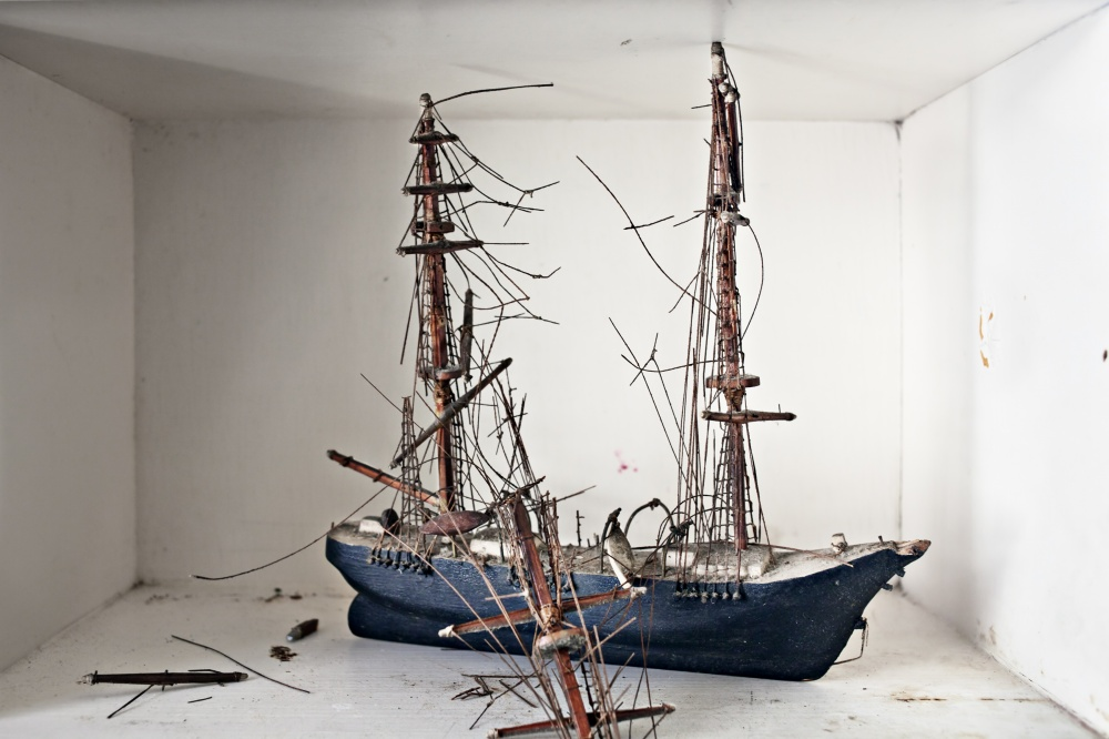 Art and Documentary Photography - Loading Broken Ship.jpg