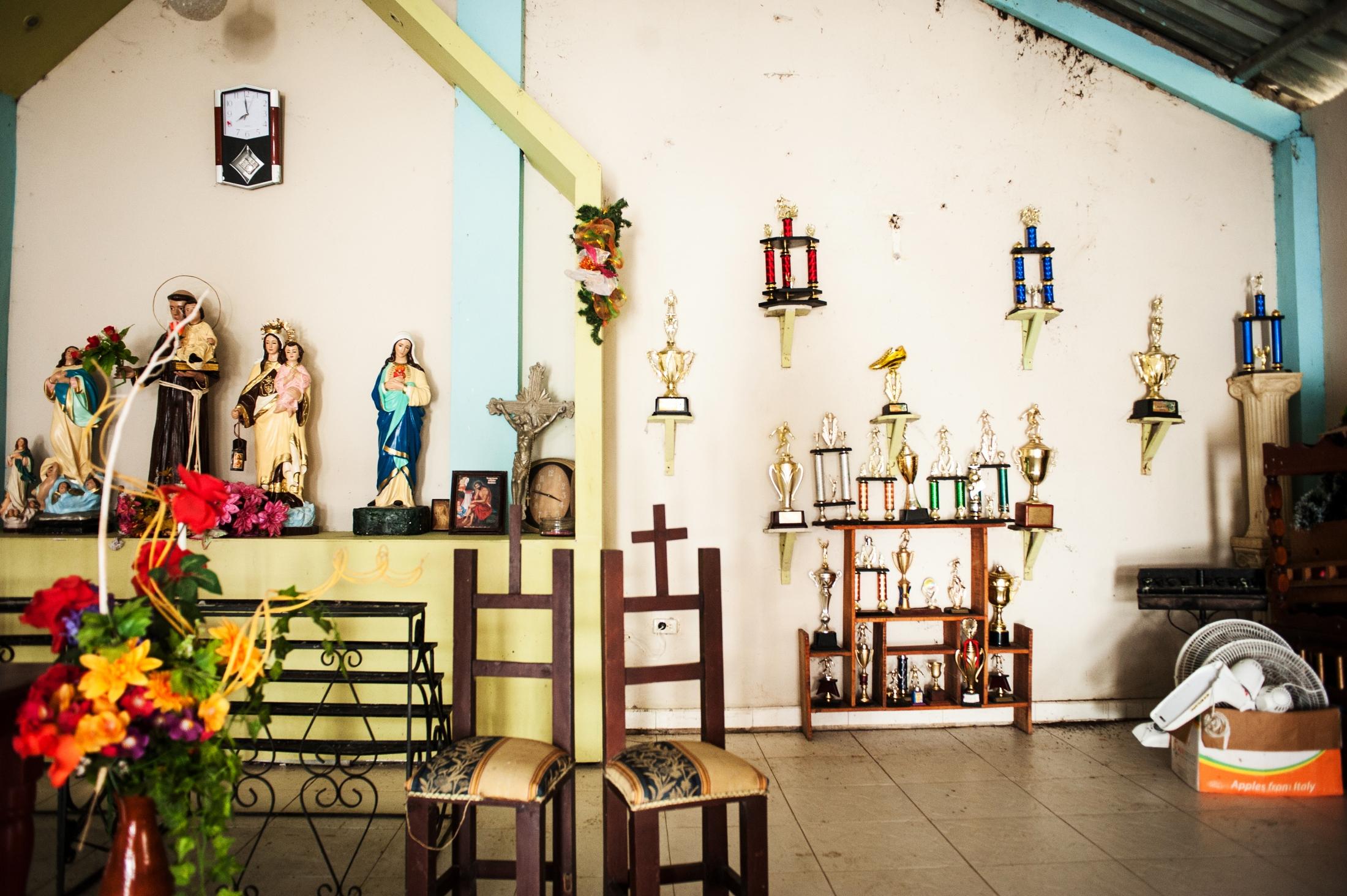 A church in Tanguí, where Juana lives.
