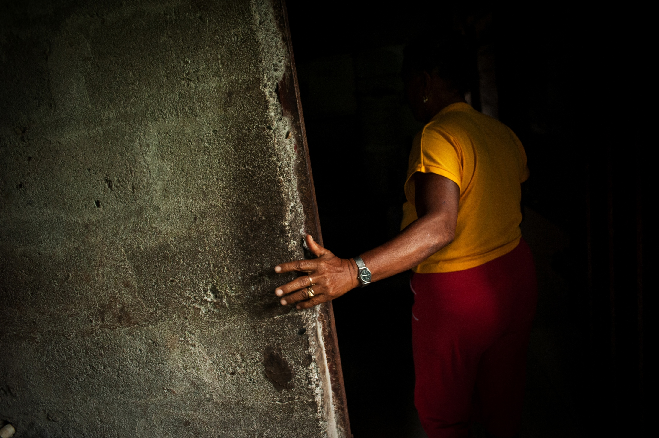 """""""They caught me because they wanted to harm him, they wanted to hurt my son, the people that kidnapped me just wanted to hurt him."""" Juana Padilla, a local community leader, was kidnapped in 2007 after her son was elected mayor of Tanguí, a town in the province of Chocó."""