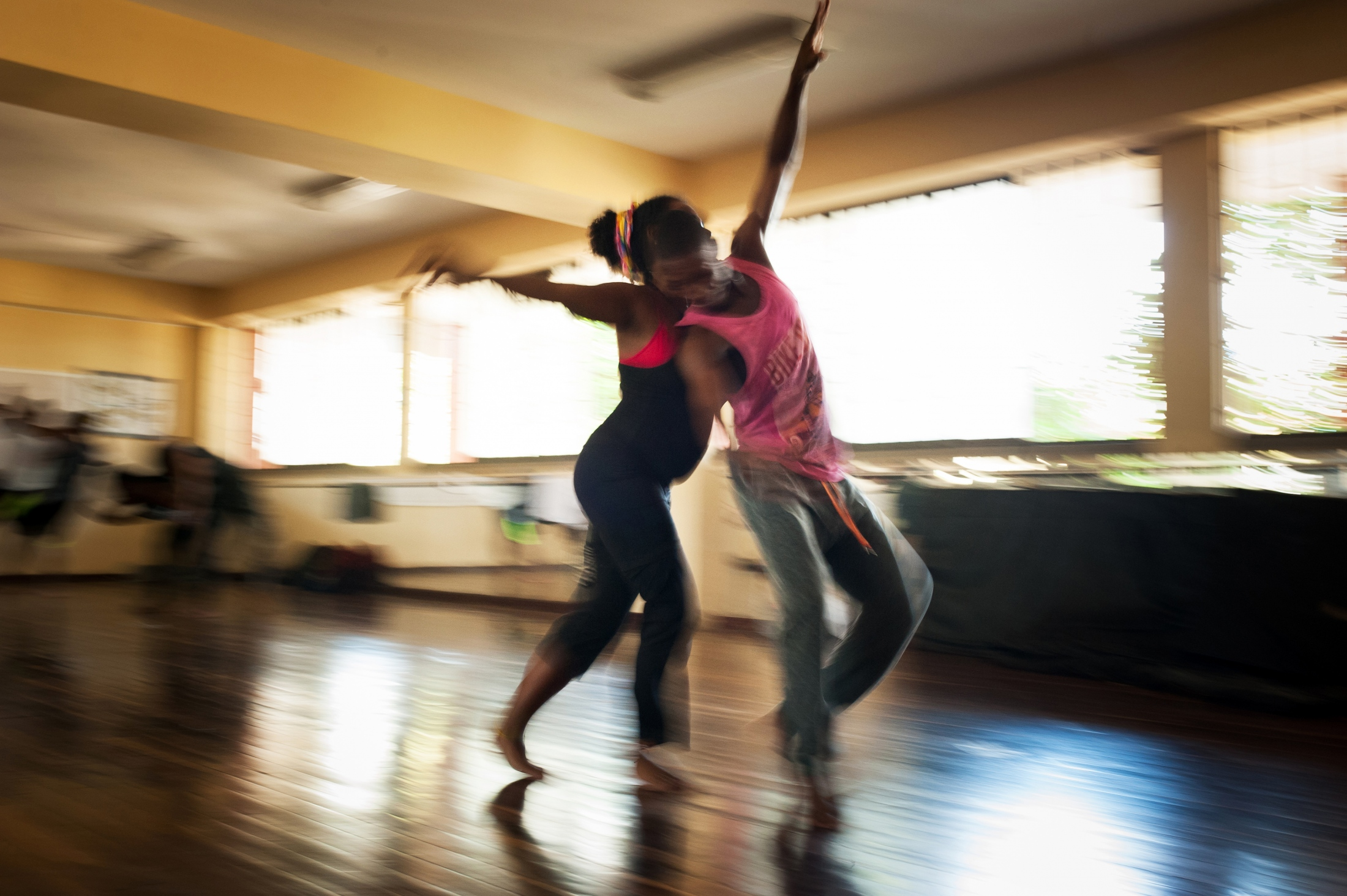 """""""I studied social work and I am a dancer too. When I was a girl, I was the target of sexual violence and when I discovered dancing it changed the way I interact with my body, and with the passing of time I noticed that scenic arts could be a great channel for me to express my pain and find the freedom of my spirit."""""""