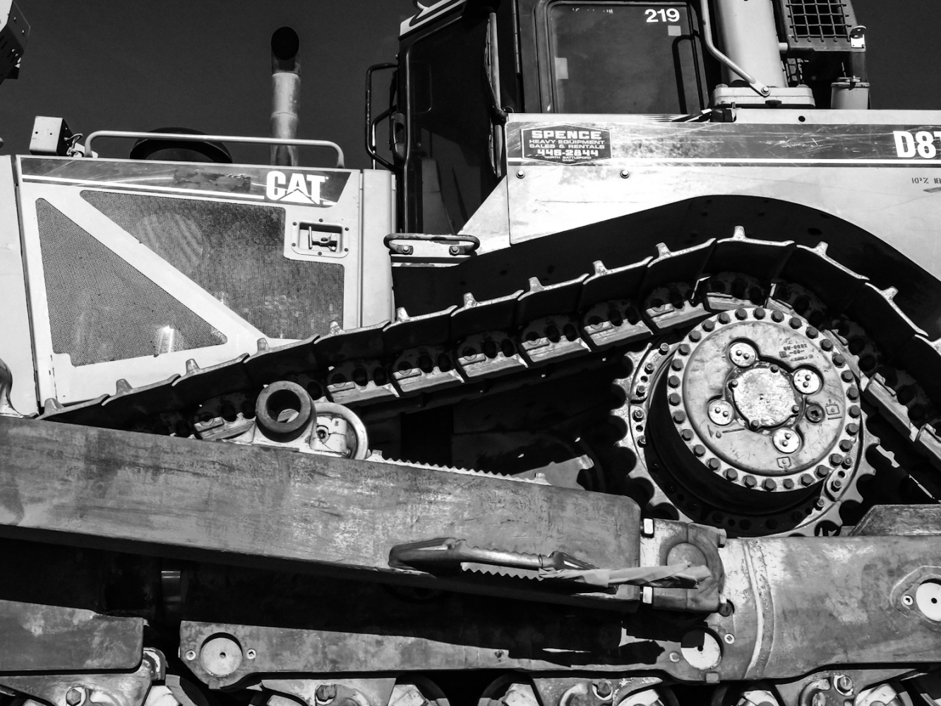 Photography image - Heavy Machinery on the Highway, #3, Saskatchewan 2018