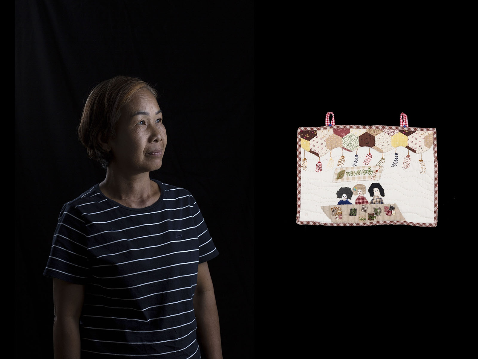 Samai Mangta is a member of the Rak Nam Oum Group in Nakhon Nakhon Province who are objecting to several polluting industrial projects in the area of her community.