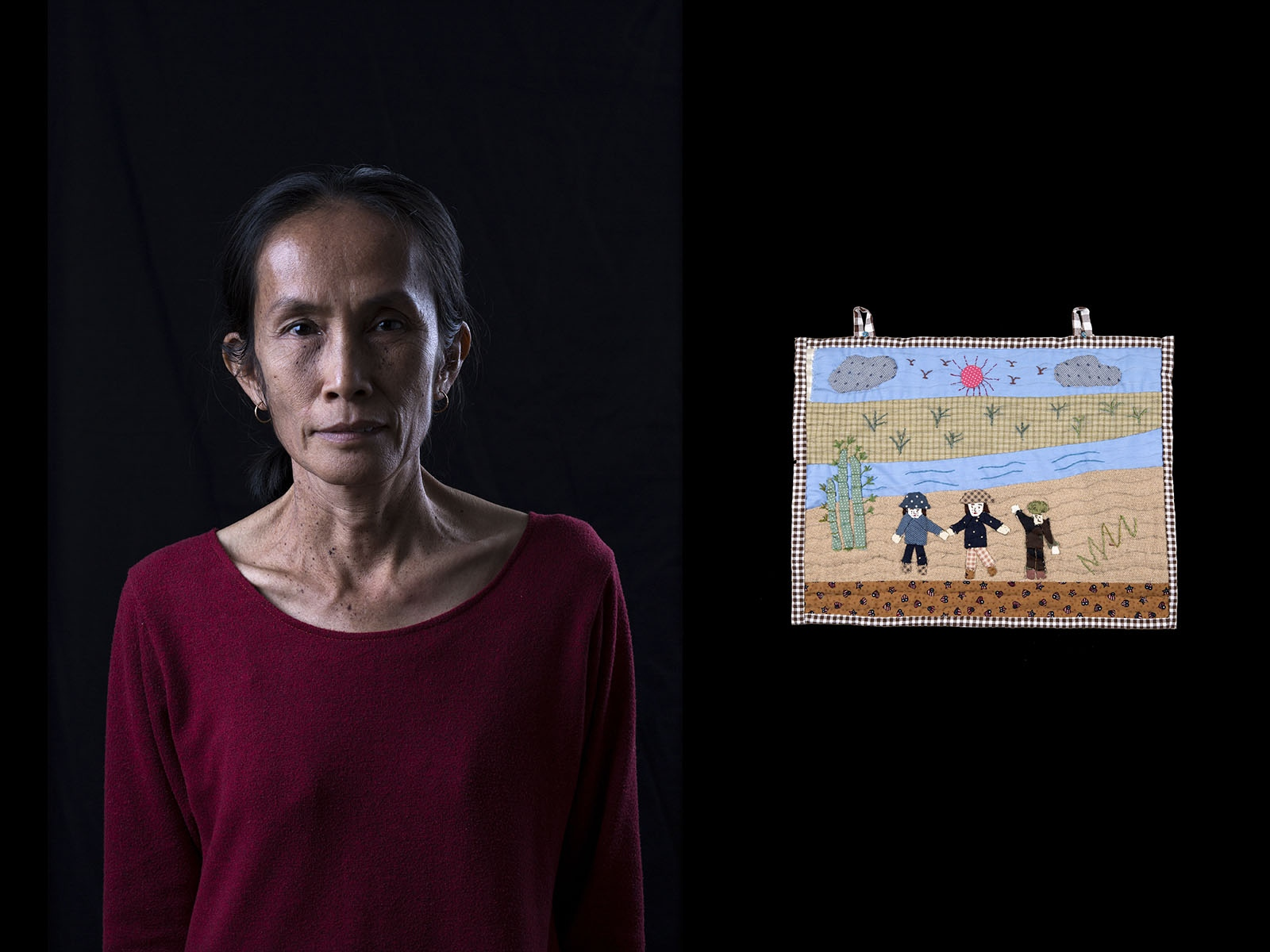 Sopha Ngamsombat is a member of the Rak Ban Heang environmental group in Lampang Province, Thailand, who are fighting against the construction of a large open-pit coal mine.