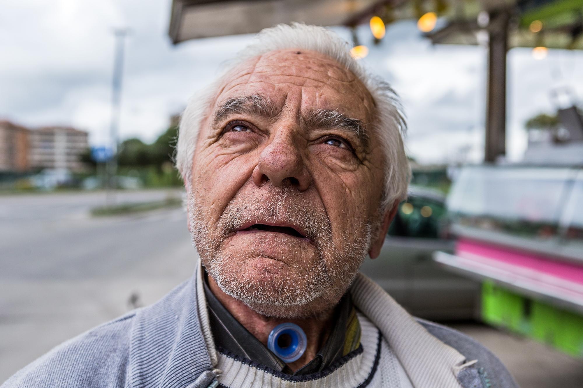 A resident of Santa Palomba