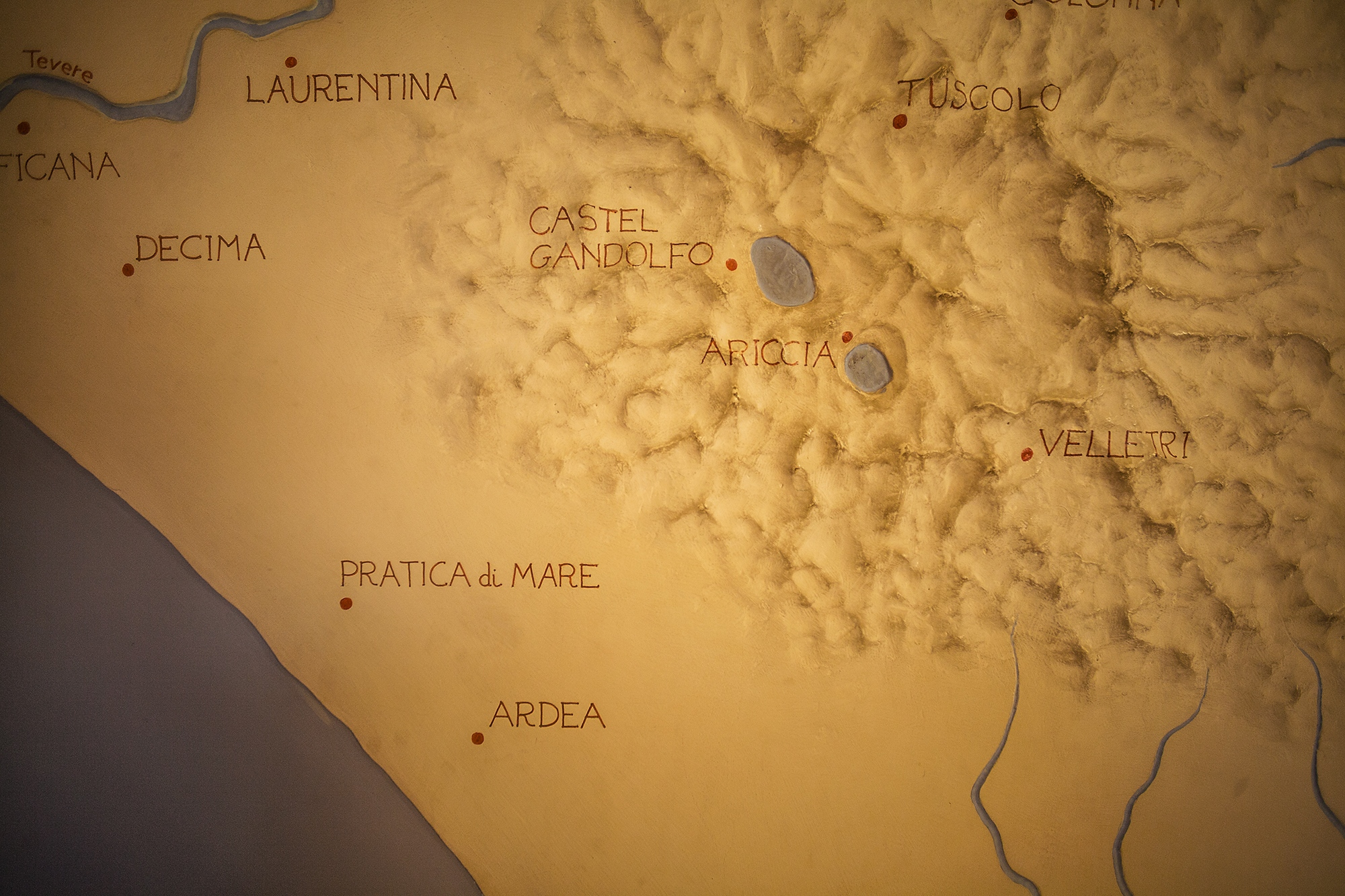 An ancient map of the area