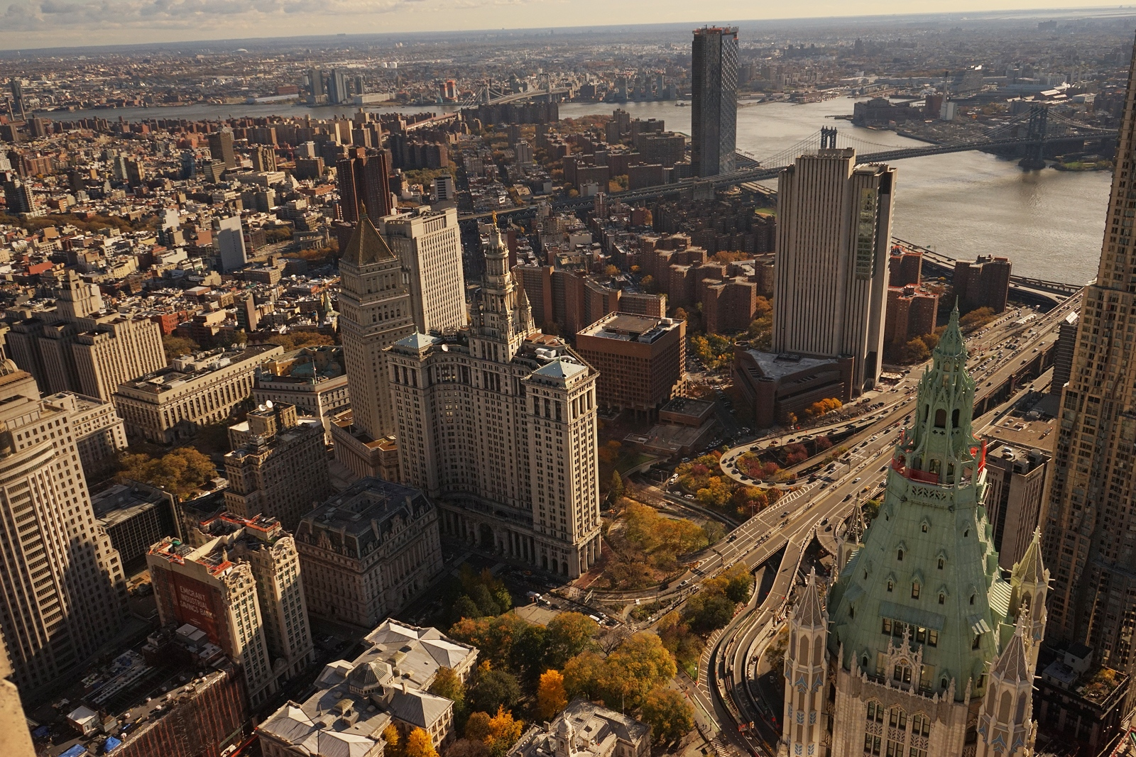 Photography image - View from the 82nd Floor on Barkley Street, New York City