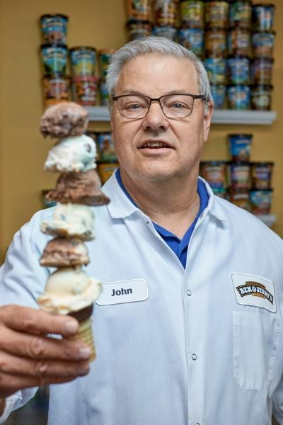 Ben & Jerry's Ice Cream Flavor guru John Shaffer