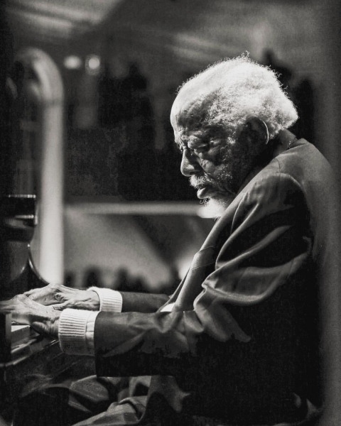 Barry Harris at Flushing Town Hall, November 2018.