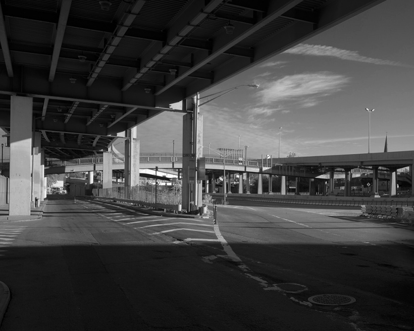 Art and Documentary Photography - Loading BQE_A _B&W.jpg