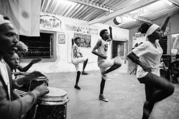 Barbaro Ramon is running a dance school for children and young people in Matanzas
