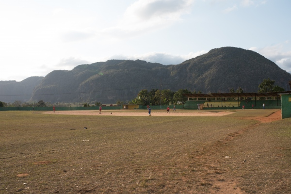 baseball field  Viñales Valley