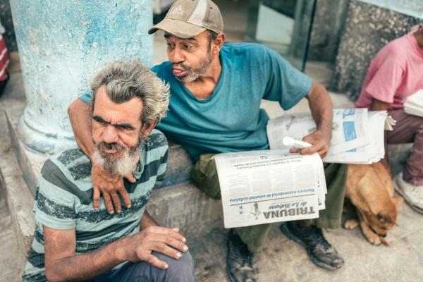 Beggars in La Habana