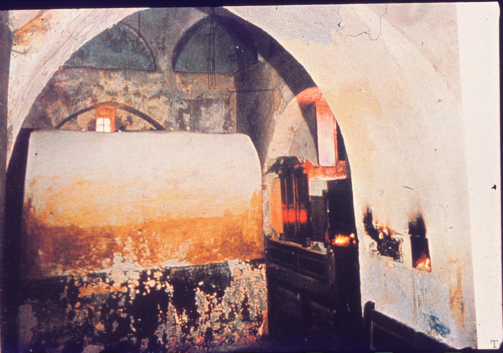 Inside Rachel's Tomb
