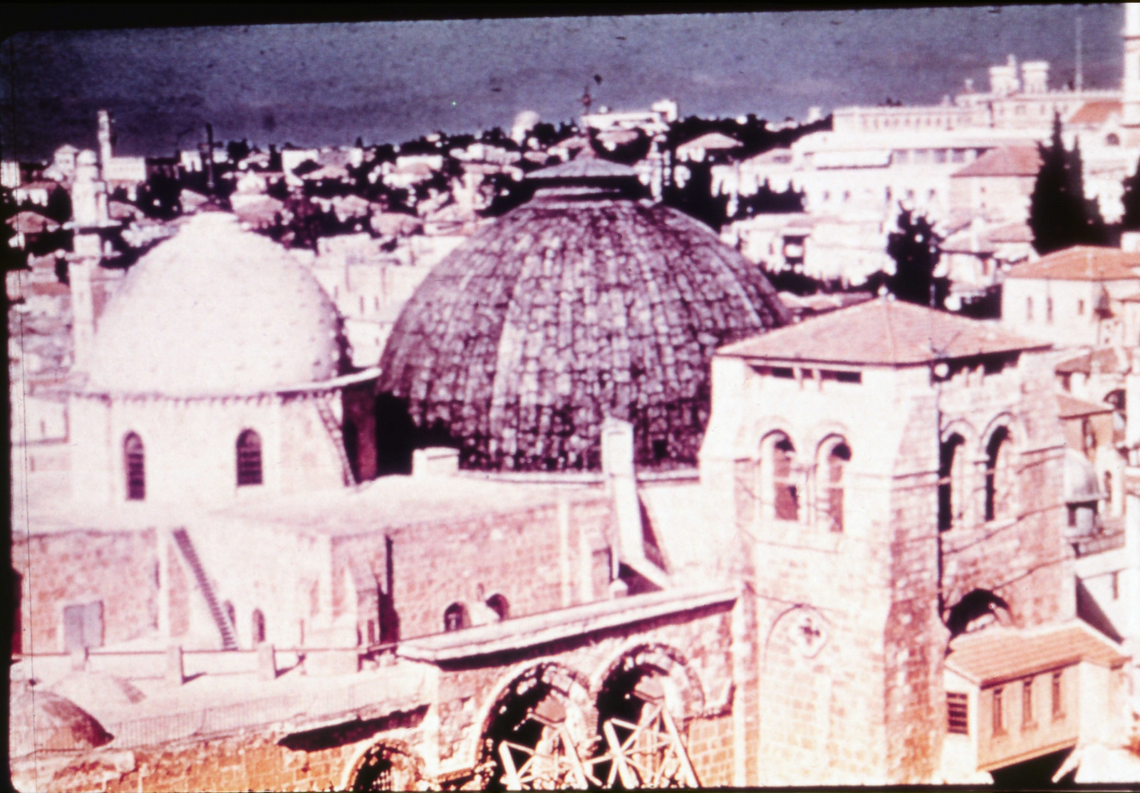 View of the holy Sepulcher