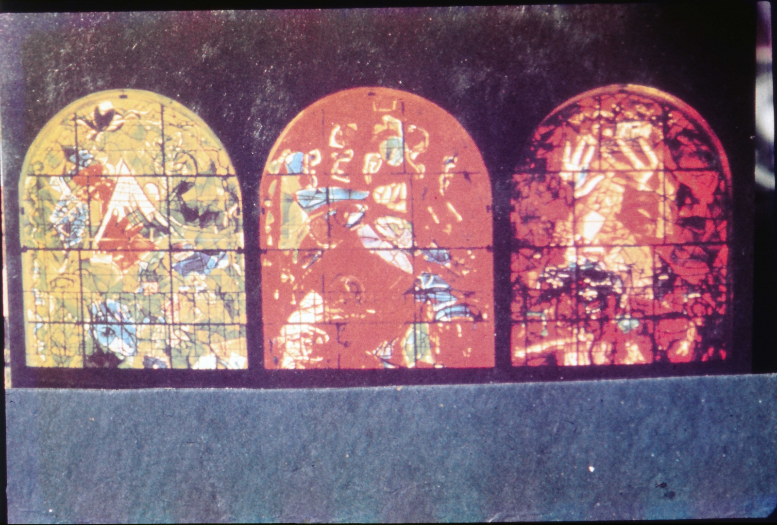 The twelve Chagall windows