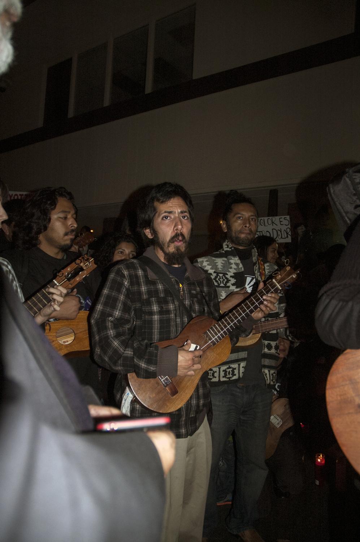 Art and Documentary Photography - Loading A_random_solidarity_sing__at_border_.jpg