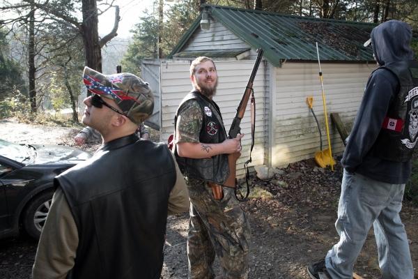 Ku Klux Klan - year end gathering
