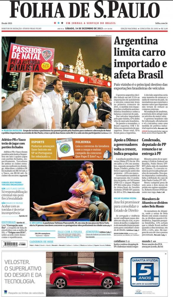 Folha de Sao Paulo - Brazil