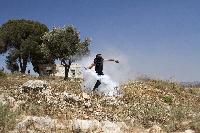 Nabi Saleh, West Bank, 2015.
