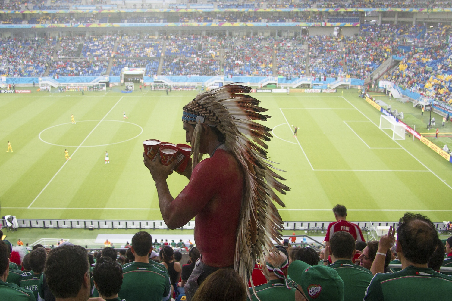 Mexico vs. Cameroon, 2014.
