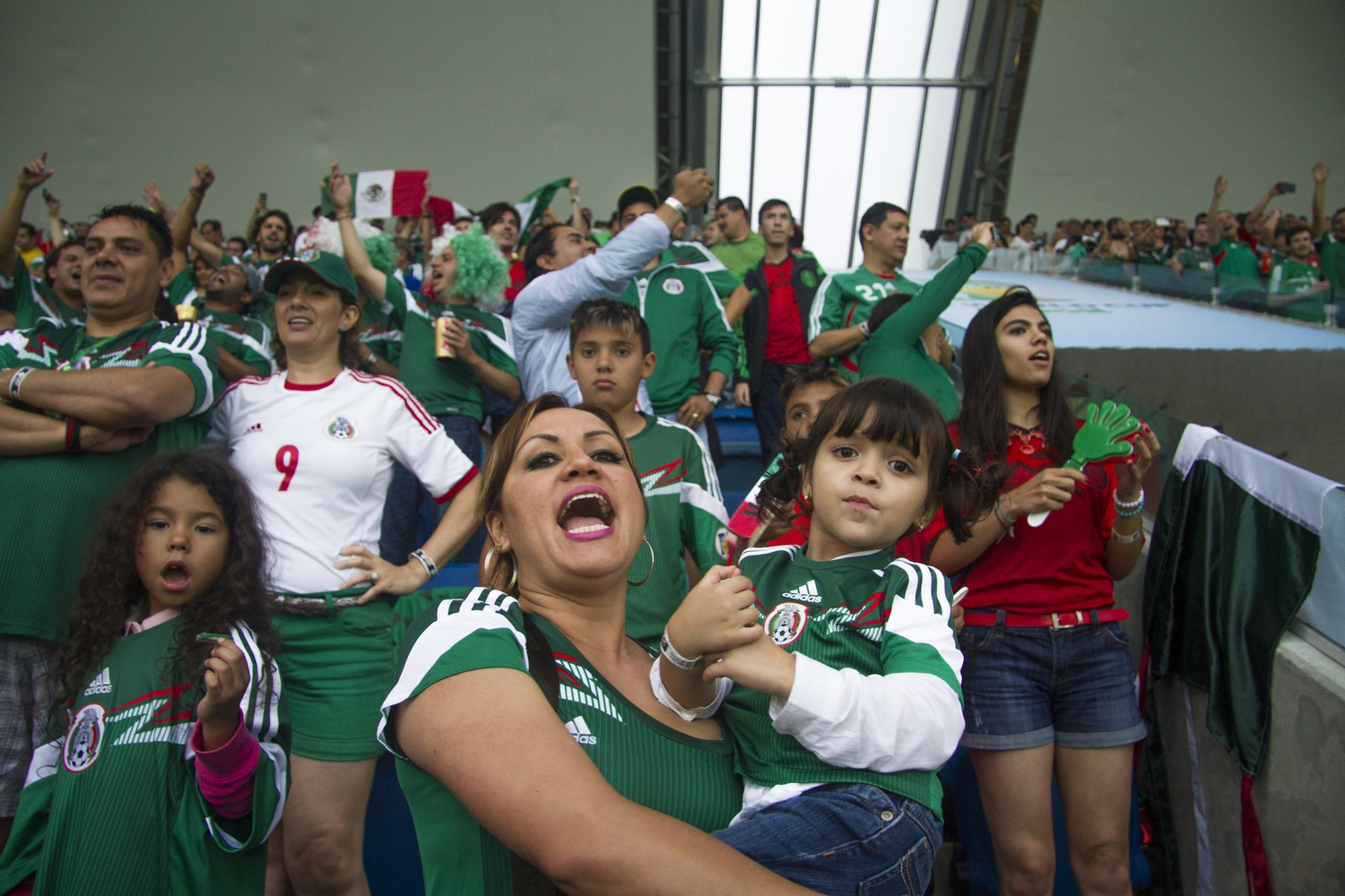 Mexico fans, Natal, 2014.
