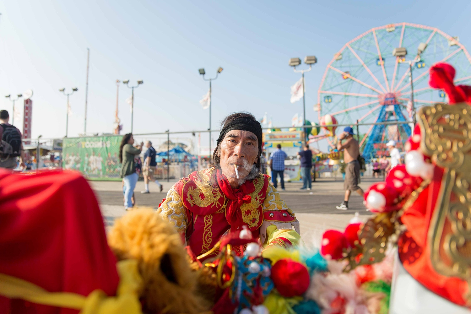 Performer at Coney Island | Brooklyn, New York, 2018