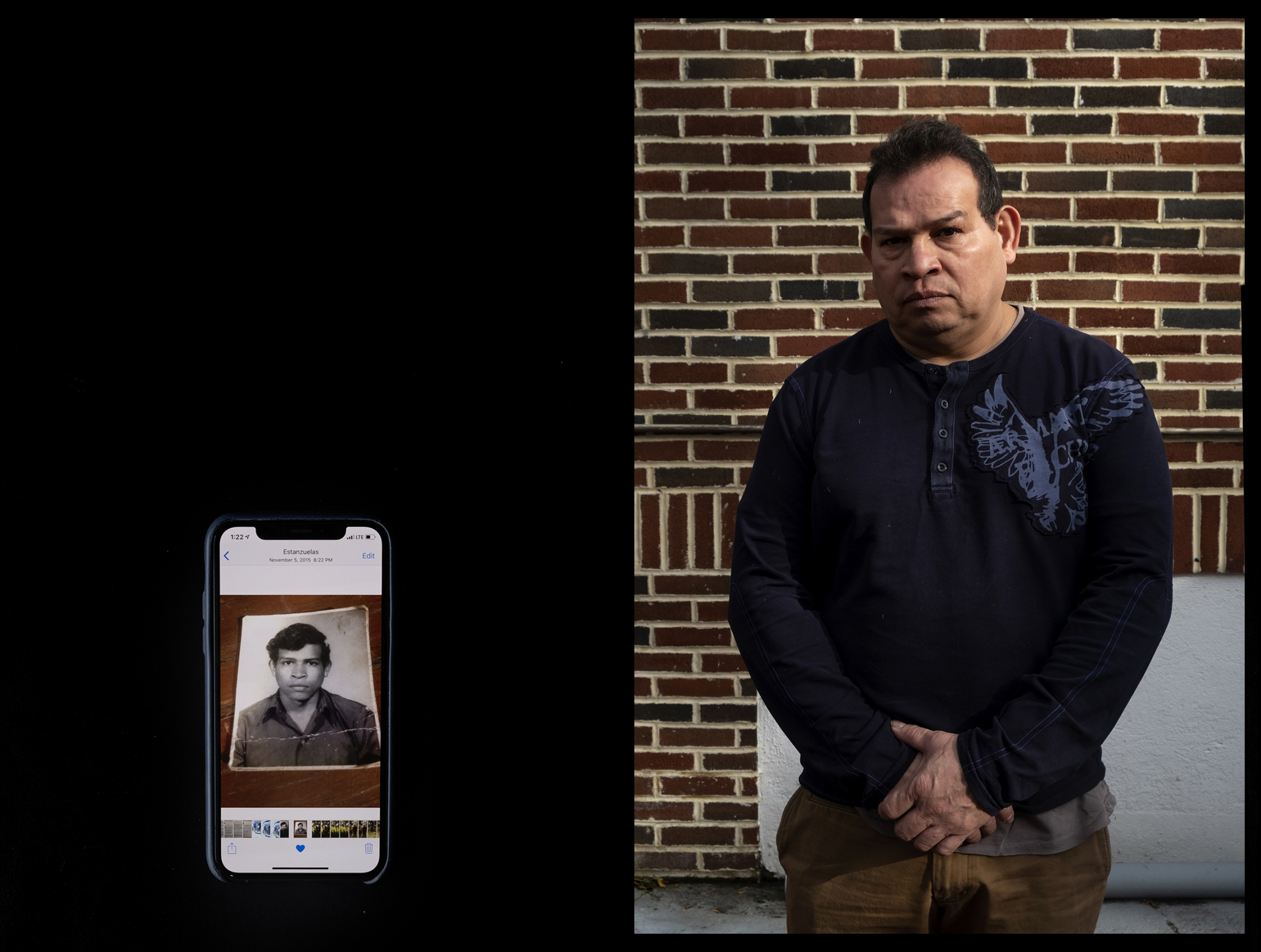 "At age 15, traveling on his own, Amilcar Ramirez, 50, fled the violence of his home country in El Salvador and headed north through Mexico to the U.S. border. He crossed illegally and for 34 years he lived in the shadows until last year, when he was able to apply for US citizenship.      As a U.S. resident he feels more free and protected. ""It was important for me to become a citizen because it has allowed me to travel and see new places, like Puerto Rico,"" Ramirez said. Left: A head shot of Amilcar Ramirez taken in 1983 when he prepared the paperwork to cross the U.S.-Mexico border illegally in 1983. Having misplaced the physical image, Ramirez says he is thankful for having saved it on his iPhone."