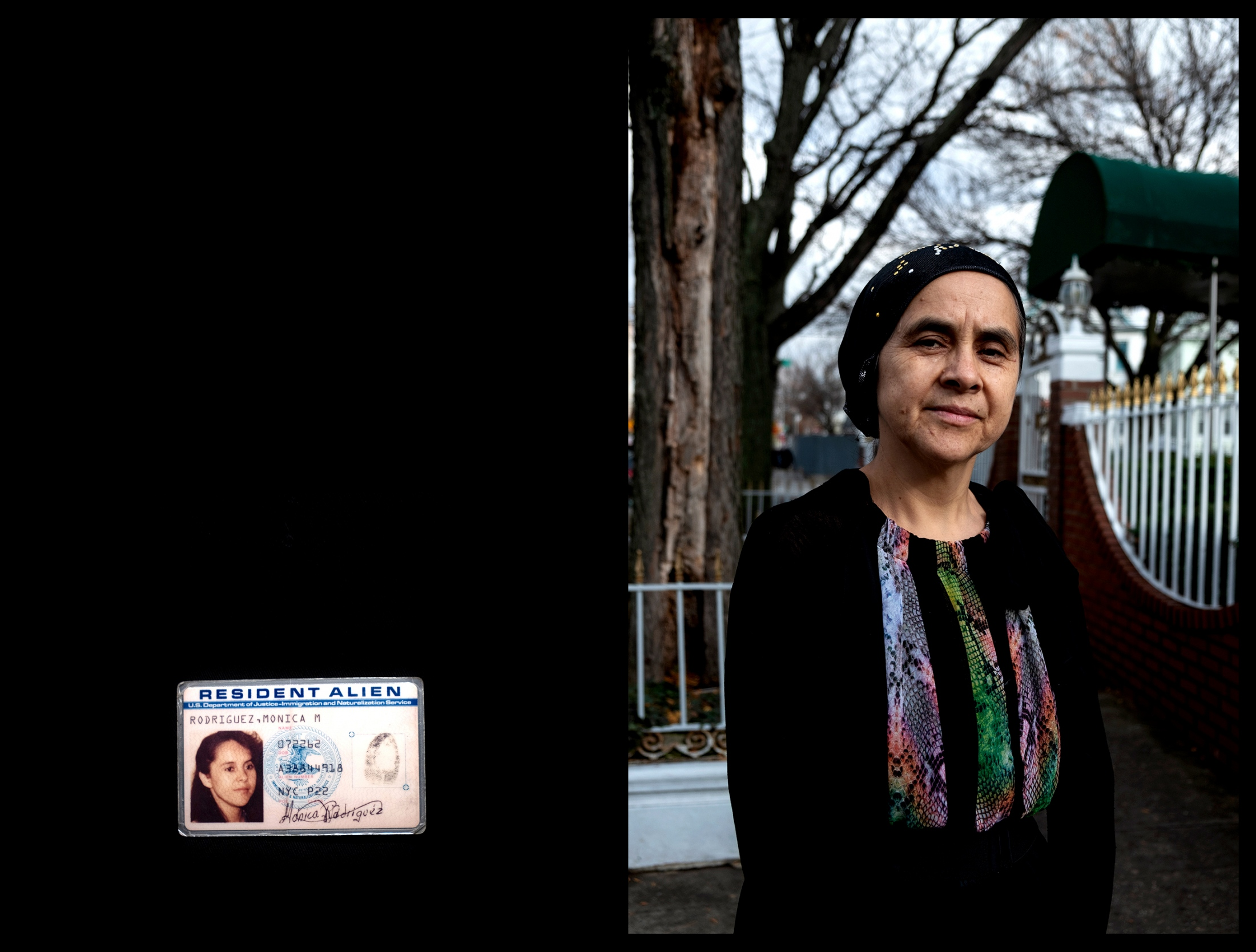 "In her flower-ingrained wallet, Mónica Rodriguez, 56, still carries the first green card she obtained at 21, when her father arranged for her to leave her life in Quito, Ecuador and migrate to the United States. For 37 years, Rodriguez lived comfortably as a legal resident of New York. She worked as a seamstress and raised her two daughters, never fearing of being be deported.  But, as her peers began receiving their U.S. citizenships, Rodriguez felt she was falling behind. Her husband insisted she should apply for naturalization. As a citizen, he told her, people take you more seriously. She lacked strong English skills so waited until she met the ""55/15"" exception enforced by the U.S. Citizenship and Immigration Services. The rule allows applicants to take the naturalization exam in their native language if they are 55 or older and have lived as permanent residents of the U.S. for at least 15 years. Last August, Rodriguez became a U.S. citizen.  Left: The first green card Mónica Rodriguez obtained when she migrated to the U.S. at 21."